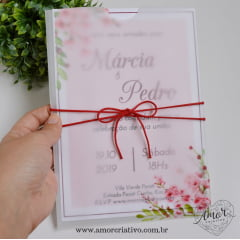 Convite de Casamento Cerejeiras