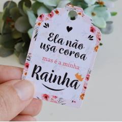 LEMBRANCINHA PARA O DIA DAS MÃES MINI VELA MINHA RAINHA