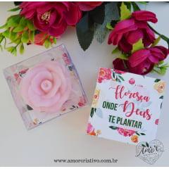 Lembrancinha  Sabonete Artesanal Floresça