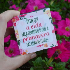 Lembrancinha Sabonete Artesanal Primavera